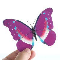 3D papillon décor Magnetique ou autocollant décor mural d'intérieur  X 12