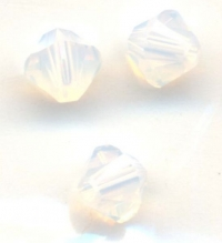 Toupies en crystal 4mm 