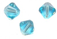 TOUPIES SWAROVSKI® ELEMENTS<br />  4 mm<br /> LIGHT TURQUOISE<br /> X 50 PERLES