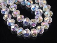 Rondelles spacer crystal 4 mm