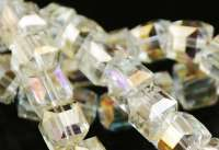 Cubes en crystal citrine