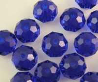 Perles crystal 3 x 4 mm Dark Sapphire  X 92