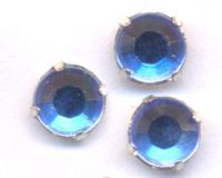 Chatons light sapphire 5 mm X 5