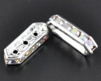 Connecteurs 3 trous 18 x6 mm X 5