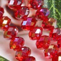 Perles crystal  4 x 6 17 perles