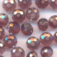 Perles 6 x 4mm, perles  Purole X 70