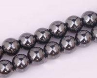 Perles magnétique Hématite Pour Shamballa, Bracelet 10mm X 10