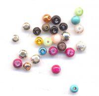 Perles 4 mm mixte x 26