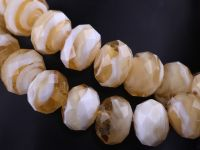 Perles Lampwork , perles de Murano black 12 x 8 mm  X 10