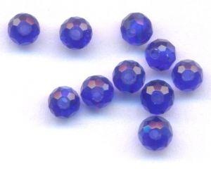 Perles , perle de cristal  3x4mm X 100