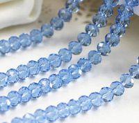 Perles violet 3 x 4 mm X 100