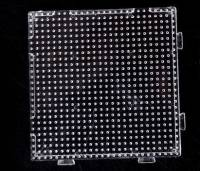 Plaque  carré pour perles Hama 2.6 mm 7 x 7 cm