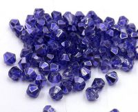 Toupies metallic blue 2x  4 mm X 100
