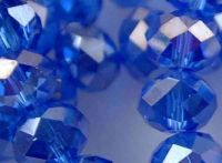 Perles de cristal ,sapphire 2 x 3 mm X 200