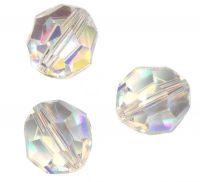 Perles cristal swarovski Rondes 5000 4 mm AB Crystal AB Qte : 20