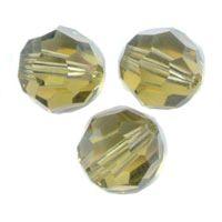 Perles cristal swarovski Rondes 5000 6 mm Khaki Qte : 6