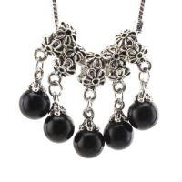 Pendant spacer  perles : 11 MM chaine : 3 CM