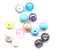Perles 8 mm mixte X 12