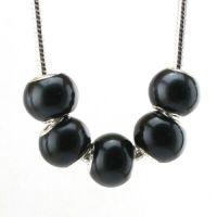 Mixte Perles Lampwork , perles de Murano 14x10mm X 5