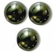 Perles nacrées 5810 SWAROVSKI® ELEMENTS 4 mm DARK GREEN X 20