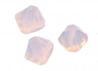 Toupies en crystal 4mm  rose water opal X 100