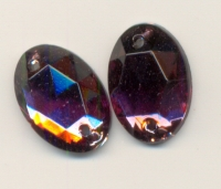 Cabochon a coudre AMETHYST X 1