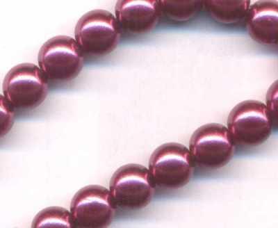 Nacrees 8 mm x 5 perles