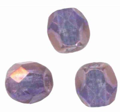 Facettes Perles De Verre cristaux 4 mm 6 mm 8 mm Bleu Vert Lilas Bronze Black Ruby