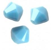 TOUPIES SWAROVSKI® ELEMENTS  6MM  TURQUOISE X 20 perles