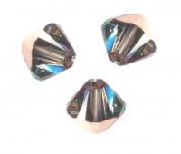 TOUPIES SWAROVSKI® ELEMENTS  4mm AB  CRYSTAL ROSE GOLD X 50 perles
