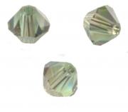 TOUPIES SWAROVSKI® ELEMENTS  4mm CHRYSOLITE satin 50 perles