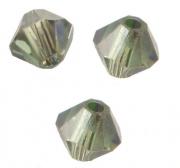 TOUPIES SWAROVSKI® ELEMENTS  4mm ERINITE satin 50 perles