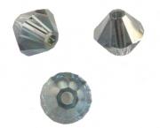 TOUPIES SWAROVSKI® ELEMENTS<br />  4mm<br /> INDIAN SAPPHIRE satin<br /> 50 perles