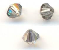 TOUPIES SWAROVSKI® ELEMENTS  4mm LIGHT AZORE satin 50 perles