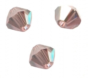 TOUPIES SWAROVSKI® ELEMENTS  4 mm LIGHT ROSE satin 50 perles