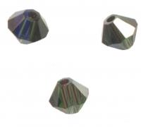 TOUPIES SWAROVSKI® ELEMENTS  4mm TURMALINE satin 50 perles