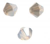 TOUPIES SWAROVSKI® ELEMENTS  4mm WHITE OPAL satin 50 perles