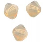 TOUPIES SWAROVSKI® ELEMENTS  6MM  SAND OPAL  X 20 perles