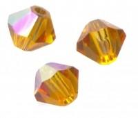 TOUPIES SWAROVSKI® ELEMENTS  4mm    TOPAZ AB  X 50 perles