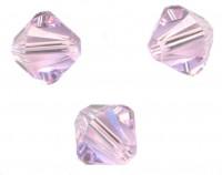 TOUPIES SWAROVSKI® ELEMENTS  4mm    VIOLET  AB  X 50 perles