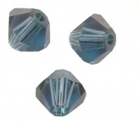 TOUPIES SWAROVSKI® ELEMENTS  6MM  MONTANA  X 20 perles