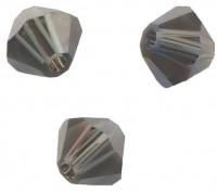 TOUPIES SWAROVSKI® ELEMENTS  6MM  MORION  X 20 perles