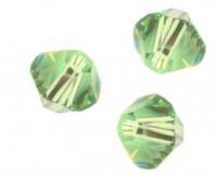 TOUPIES SWAROVSKI® ELEMENTS  6MM  PERIDOT X 20 perles