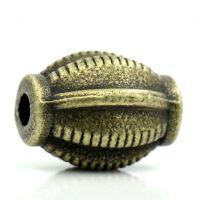 Intercalaires Lanterne Bronze Accessoire 9x7mm  taille du trou = 1.5 mm X 10