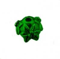 CALOTTE  FLEUR VIEL OR 10 X 7 taille du trou = 1.5 mm X 5