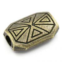 Intercalaires Motif Bronze 15x10mm  X 5