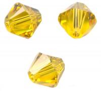 TOUPIES SWAROVSKI® ELEMENTS  6MM  SUNFLOWER X 20 perles