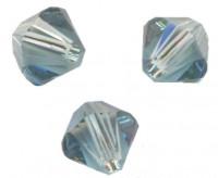TOUPIES SWAROVSKI® ELEMENTS  6MM  INDIAN SAPPHIRE X 20 perles