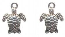 Breloques tortues16 X 13 mm Qte : 2