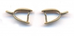 Belieres bronze 11 mm x 7 mm qte : 2